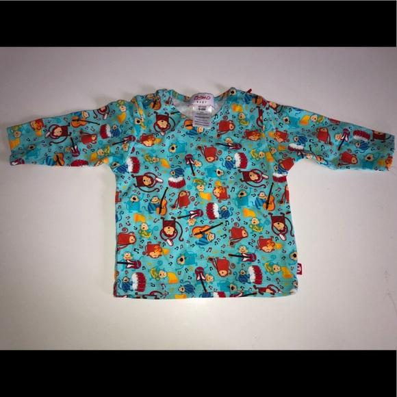 3a1d09035 Zutano Shirts & Tops | Monkey Band Shirt Top Organic Cotton 06 Mo ...